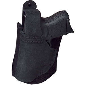 Galco Ankle Lite Ankle Holster Left Hand Fits GLOCK 19/23 & FNS 9/40 Leather Black