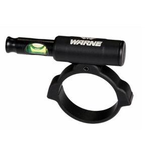 Warne Universal Scope Level Anti-Cant Scope Leveling Device 30mm Tube Compatible Green Bubble Level Matte Black Finish