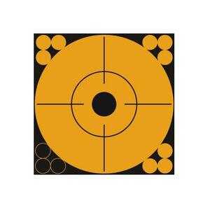 "Pro-Shot Splatter Shot Peel & Stick 6"" Target Dots 1 Dots Per Sheet 10 Pack Orange"