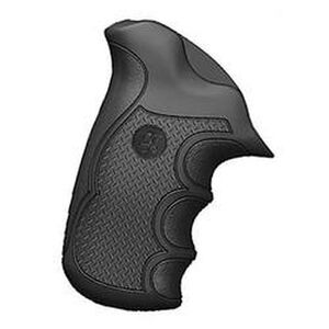 Pachmayr Diamond Pro Grip Taurus Public Defender Compact with Steel Frame Rubber Black