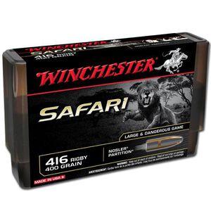 Winchester Safari .416 Rigby 400 Grain Nosler FN 20 Rnd Box