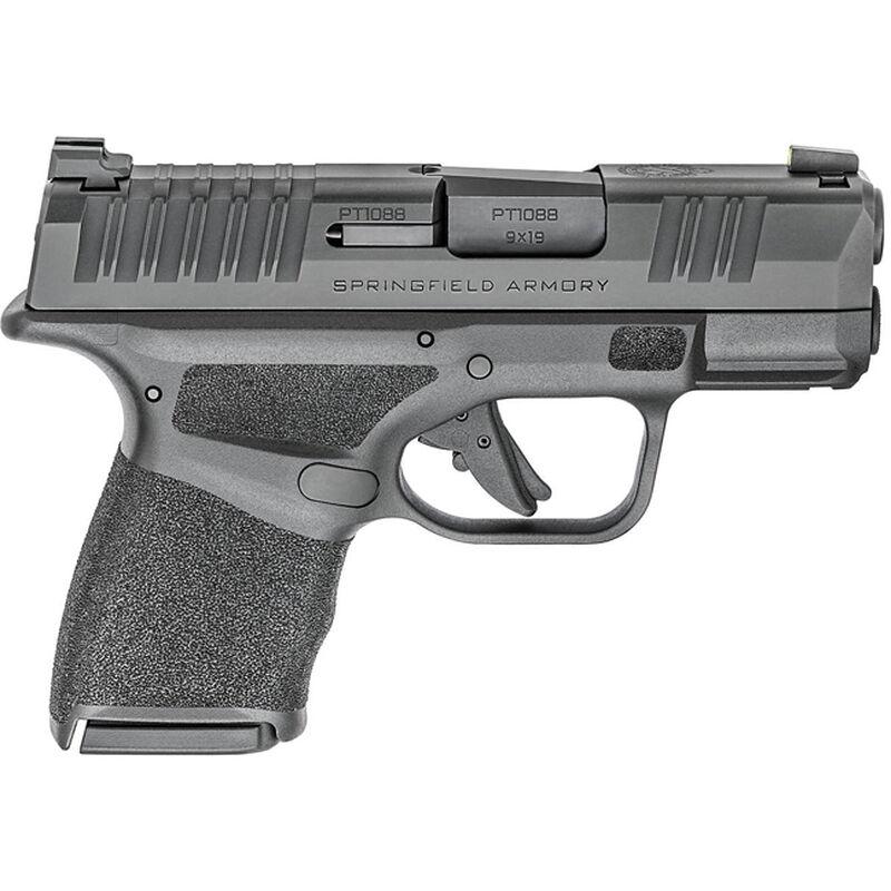 "Springfield Armory HELLCAT 9mm Semi-Auto Pistol 3"" Barrel 10 Rounds Black"