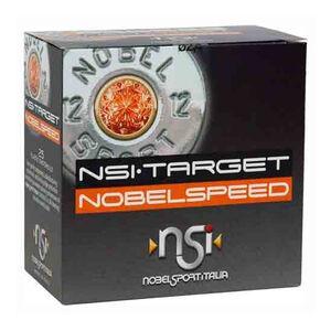 """NobelSport Target NobelSpeed 12 Gauge Ammunition 25 Rounds 2 3/4"""" #7.5 Lead 1 oz 9470317"""