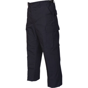 Tru-Spec Gen-1 Police BDU Pants Size Large Length Regular Polyester/Cotton Ripstop Navy 1996005