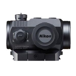 Nikon P-Tactical Superdot Red Dot Sight 2 MOA Dot Picatinny Rail Mount Matte Black