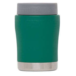 Mammoth Coolers Chillski Series Can and Bottle Holder 12oz Stainless Steel Green