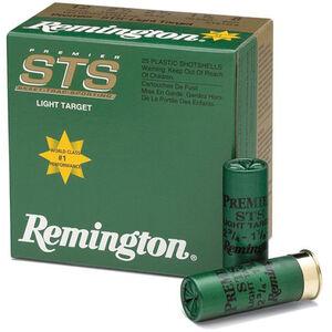 """Remington Premier STS 20 Ga 2.75"""" #8 Lead .875oz 250 rds"""