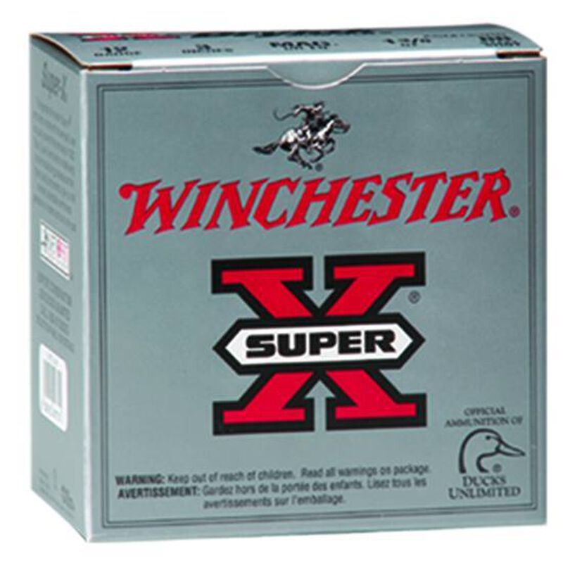 """Winchester Super X Game .410 Bore Ammunition 25 Rounds 3"""" #7.5 Lead 0.75 Ounce X413H7"""