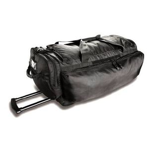 """Uncle Mike's Law Enforcement Side-Armor Roll Out Black Bag 29""""x13x13 Main Compartment 53451"""