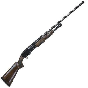 "CZ-USA 620 Field Select Pump Action Shotgun 20 Gauge 28"" Barrel 3"" Chamber 4 Rounds Select Grade Turkish Walnut Stock Gloss Blue Finish"