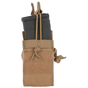 Fox Outdoor AR Dual-Stack Mag Pouch Coyote 57-228