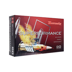 Hornady Superformance .223 Remington Ammunition 20 Rounds Lead Free GMX 55 Grains 83274