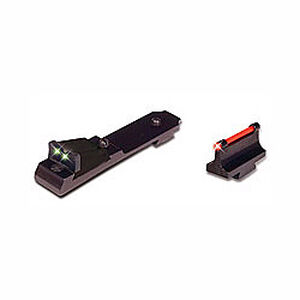 TRUGLO Lever Action Rifle Fiber Optic Sight Set Winchester 94 Contrasting Colors