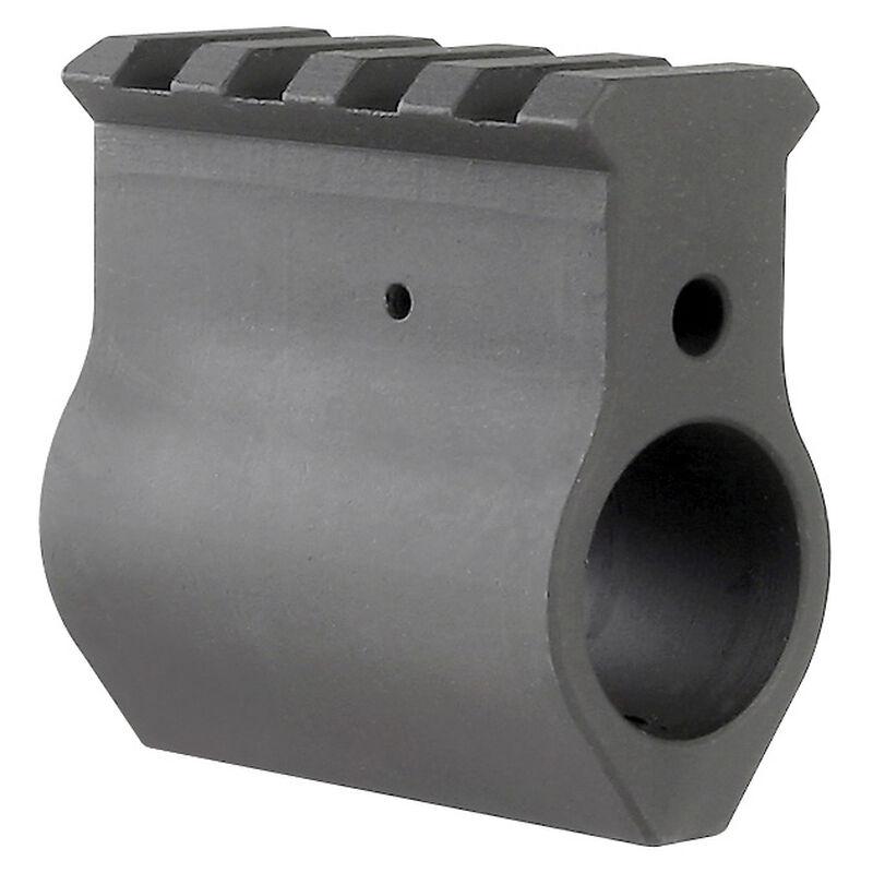 "Midwest Industries AR-15 Upper Height Gas Block .750"" Diameter 4140 Steel Matte Black Finish"