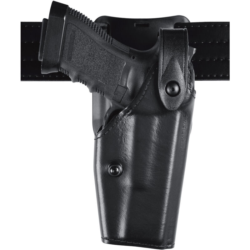 Safariland 6285 Level II SLS Duty Holster Fits Smith & Wesson Models 645, 1006, 4506, 4566 Right Hand Hardshell STX Tactical Black