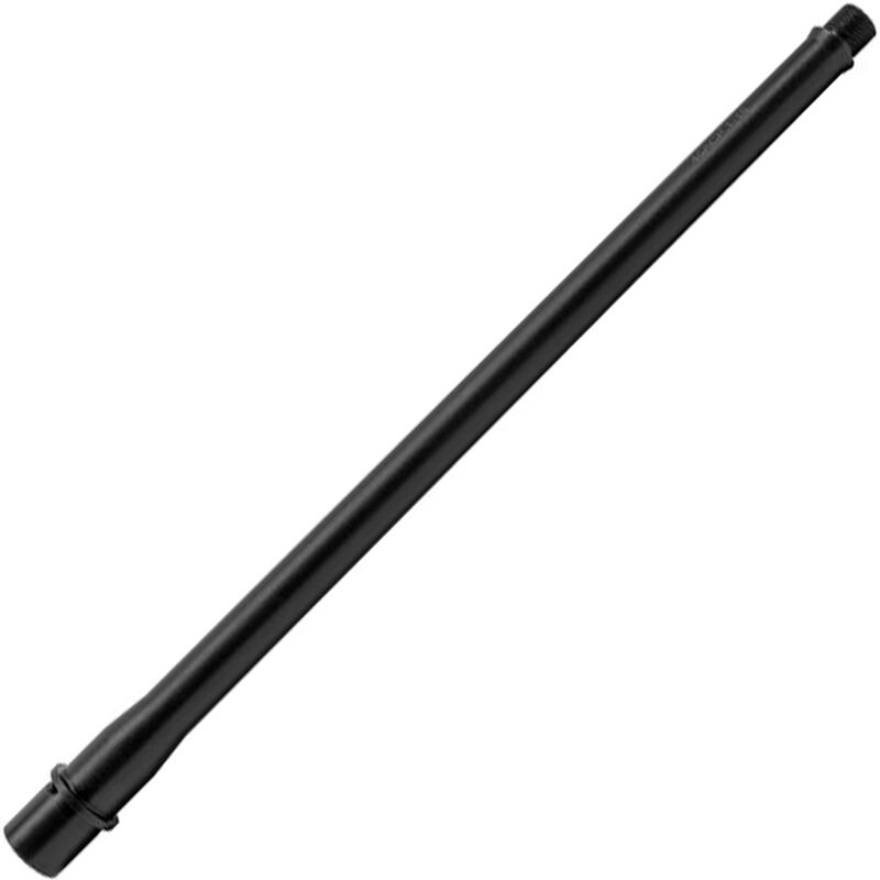 "New Frontier AR Style 16"" Match Grade Barrel .45 ACP 1:16 Twist Threaded 5/8x24 TPI Integrated Feed Ramp Black Finish"