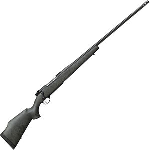 "Weatherby Mark V Accumark RC Bolt Action Rifle .338 Lapua Mag 2 Rounds 28"" Barrel with Accubrake Synthetic Laminate Stock Matte Blued Finish"