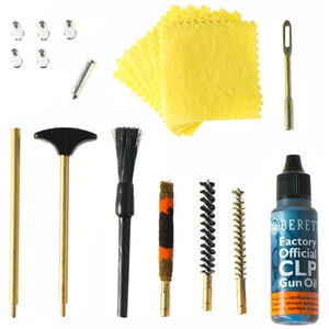 Beretta Deluxe Pistol Cleaning Kit 10mm/.40/.41 Caliber with Case