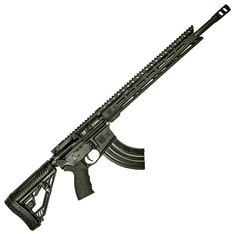 "Diamondback Firearms DB1565GEBMLB AR-15 Semi Auto Rifle 6.5 Grendel 28 Rounds 18"" Barrel M-LOK Handguard Collapsible Stock  Black"