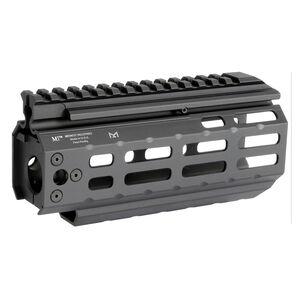 "Midwest Industries CZ Scorpion 6.75"" One Piece Hand Guard Picatinny Top Rail/M-LOK Slots 6061 Aluminum Hard Coat Anodized Matte Black Finish"