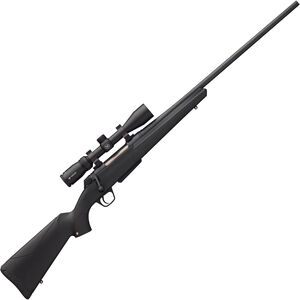 "Winchester XPR Combo Bolt Action Rifle 7mm-08 Rem 22"" Barrel 3 Rounds with 3-9x40 Scope Synthetic Stock Black Perma-Cote Finish"