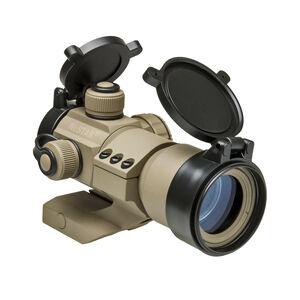 NcStar Tactical Dot Sight 1x35 Reflex Sight Red/Green/Blue 3MOA Dot 30mm Tube Tan DRGB135T