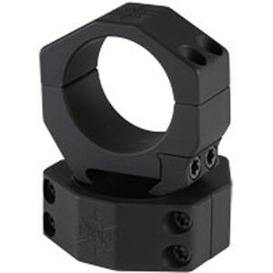 Seekins Precision 34mm Scope Rings Low Height 4 Screw Aluminum Black
