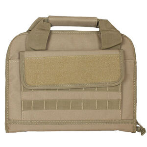 Fox Outdoor Dual Tactical Pistol Case Nylon Coyote Tan 54-5308