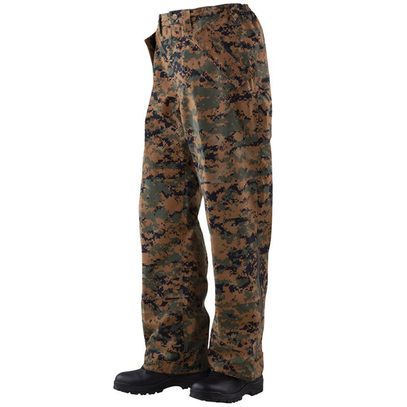 Tru-Spec H2O Proof ECWCS Men's Trousers Size Large Regular Woodland Digital