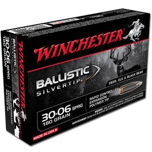 Winchester Silvertip .30-06 Springfield Ammunition 20 Rounds BST 180 Grains SBST3006B