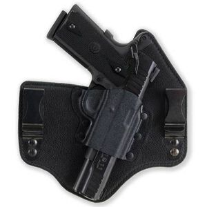 """Galco 1911 KingTuk IWB Holster 5"""" Barrel Right Hand Kydex and Leather Black Finish KT212B"""