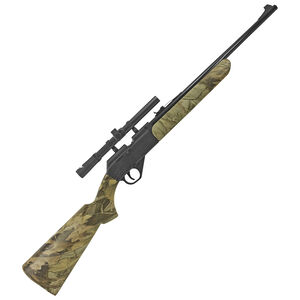 Daisy Grizzly Single Pump Air Rifle .177 Pellet/BB 350 FPS 4x15mm Scope Camo Synthetic Stock
