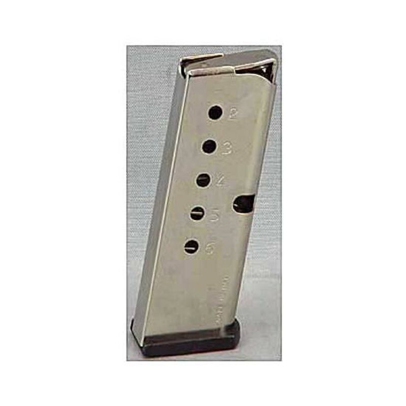 North American Arms Guardian Magazine .380 ACP 6 Round Flat Base Stainless