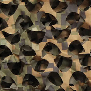 "Camo Unlimited Specialist Series Ultra Lite Camo Netting 3-D Leaf 7'10""x9'10"" Ripstop Digital Woodland"