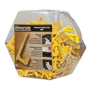 TAPCO Rifle Chamber Safety Tool Display Yellow 150 Pack TOOL9002-150