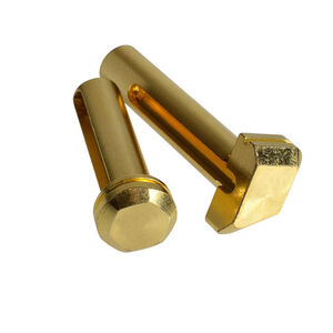 Strike Industries AR-15 Pivot/Takedown Pins Steel Gold SI-AR-EPTP-GC