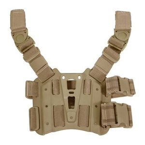 BLACKHAWK! SERPA Tactical Drop Leg Holster Platform Coyote Tan