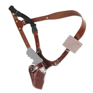 Galco Great Alaskan Shoulder Holster Fits 1911 Full Size Right Hand Chest Style Leather Tan