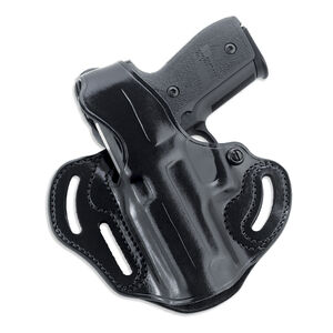 Galco Cop 3 Slot Belt Holster Fits Beretta 92/M9 Left Hand Leather Black