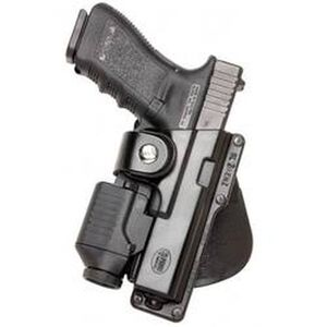 Fobus Large Autos Tactical Speed Belt Holster Right Hand Polymer Black GLT17RB214