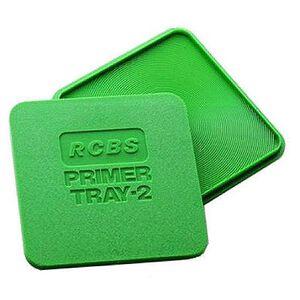 RCBS Primer Tray 2 Polymer Green 09480