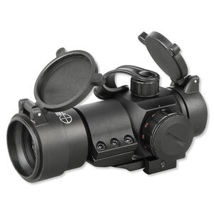 Sun Optics USA L1 Green Range Finding Reticle 30mm Sight Lens Flip Covers Turret Straps Black