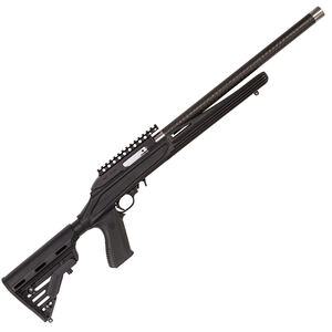 """Magnum Research Switchbolt Semi Auto Rifle .22 Long Rifle 17"""" Carbon Weave Barrel 10 Round Tactical Black Synthetic Stock/Collapsible AR Style Buttstock Matte Black Finish"""