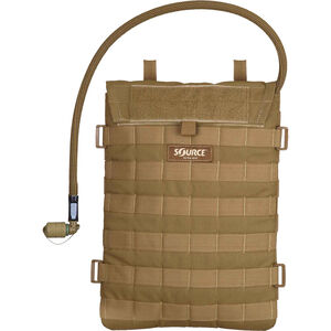 Source Tactical Razor 3 Liter Hydration Pack, Nylon, Coyote, MOLLE Compatible