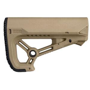 FAB Defense AR-15 GL-Core S Carbine Buttstock Mil-Spec/Commercial Diameter FDE
