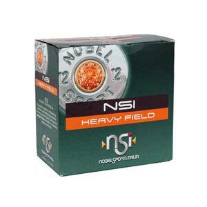 "NobelSport Heavy Field 12 ga 2.75"" #8 Lead 1-1/4 oz 25 Round Box"