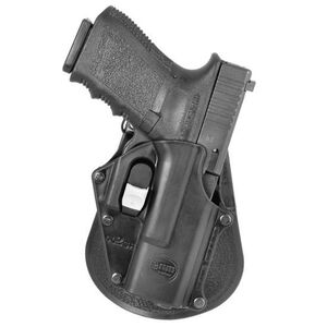 Fobus Digital Path Holster Glock 17,19,22,23 Right Hand Paddle Attachment Polymer Black