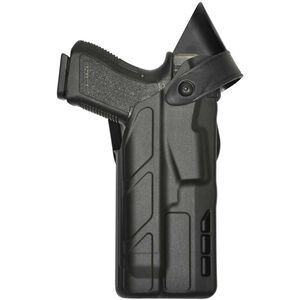 Safariland 7377 Belt Holster Fits GLOCK 19/45 with Light Right Hand SafariSeven Plain Black
