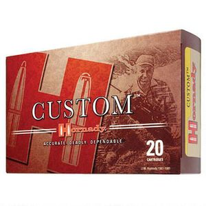 Hornady Custom 7mm Remington Magnum Ammunition 20 Rounds SP 154 Grains 8060
