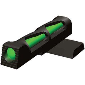 HiViz LITEWAVE Smith & Wesson 1911 Fiber Optic Front Sight Red/Green/White Steel Black SW11LW01